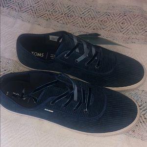 Toms Carmel shoes, Atlantic Corduroy Brand new sz9